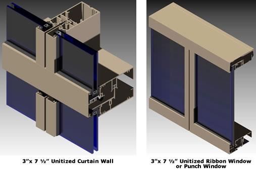 Admiral Glass Company :: (AGC-UCW) Unitized Glazed Wall Systems